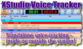 XStudio Voice Tracker